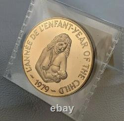 NEW HEBRIDES 500 Francs 1979 Year of the Child Mintage just 60 PR68 Cameo RARE