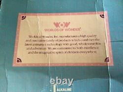 NEW IN BOX The Talking Mother Goose 1986 Tape Player Vintage Worlds of Wonder