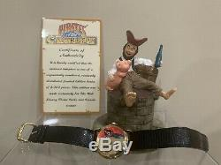 NEW RARE Disney World Theme Parks LE Pirates Of The Caribbean Watch Figure Pig