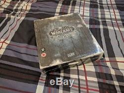 NEW SEALED UNUSED World of Warcraft Wrath of the Lich King Collectors edition