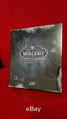 NEW SEALED World of Warcraft Wrath of the Lich King Collectors edition EU/FR