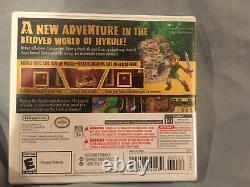 NEW The Legend of Zelda A Link Between Worlds 1st Print NTSC USA Nintendo 3DS