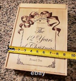 NEW The Whimsical World of Pocket Dragons THE 12 YEARS OF CHRISTMAS Musgrave VTG