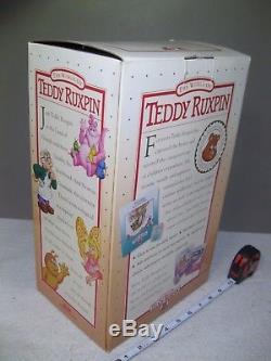 NEW The World Of Teddy Ruxpin 1990
