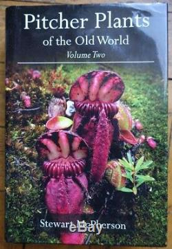NEW, UNUSED Pitcher Plants of the Old World, volume 2 by Stewart McPherson