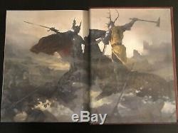 NEWithMINT/RARE SIGNED George R. R. Martin The World of Ice and Fire (GOT)
