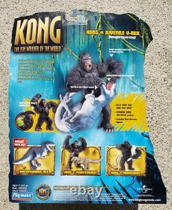 New 2005 Playmates Action Figure Kong 8th Wonder of the World Juvenile V-Rex