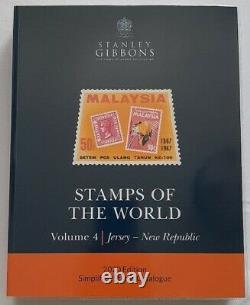 New 2020 Sg Stamps Of The World Full Set Of 6 Catalogues A-z With Dust Covers