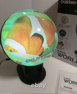 New Gakken World Eye Infinite Amount of Information Beyond the Globe