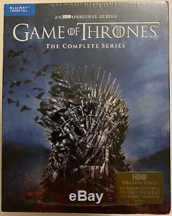 New Game Of Thrones The Complete Series Blu Ray Digital Free World Wide Shipping