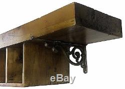 New Gins of the World 10 Bottle Rack Wooden Wine Wall Mounted Bar Display Holder