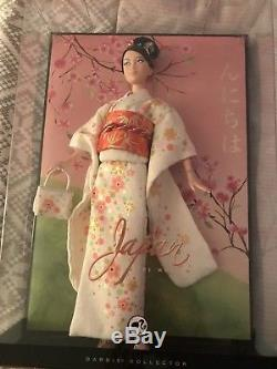 New Japan Barbie Platinum Label DOTW Dolls of the World NRFB Mattel 2007 Doll