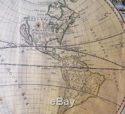 New Map of the World Latest Observations with California as an Island Senex London