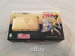 New Nintendo 3DS XL with The Legend of Zelda A Link Between Worlds Bundle