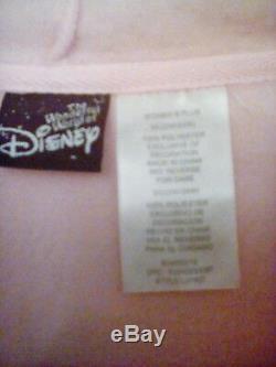 New The Wonderful World Of Disney Size 3x Tinkerbell Full Zip Fleece Hoodie