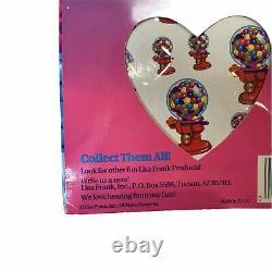 New Vintage The Wonderful World Of Lisa Frank 125+ Sticker Tote Surprise Inside