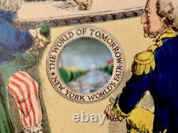 New York Worlds Fair 1789 1939 The World of Tomorrow Peepshow Tunnel Book