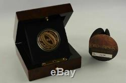 New Zealand 2003 $10 Gold Proof Coin The Lord of the Rings