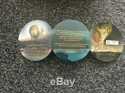 New Zealand -2003 Gold Proof Coin- Lord of The Rings- Frodo and The One Ring