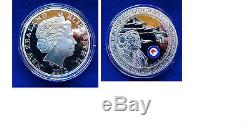 New Zealand 2012 Dollar Commemoration 75 Years of the RNZAF 1oz Silver Coin