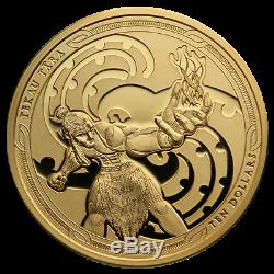 New Zealand- 2019- Gold Proof Coin Set- Maui and the Goddess of Fire