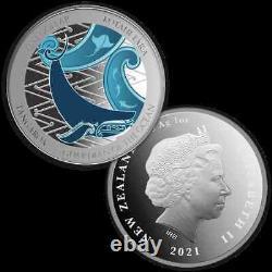 New Zealand- 2021 Silver Proof Coin Set Tangaroa Guardian of the Ocean
