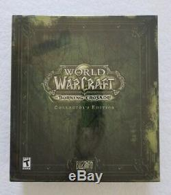 New and Sealed World of Warcraft The Burning Crusade Collector's Edition