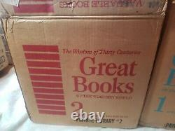 New in Box Britannica Great Books of The Western World Complete Set 54 1952 1982