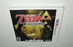 NewithSealed The Legend of Zelda A Link Between Worlds (Nintendo 3DS) US-NTSC