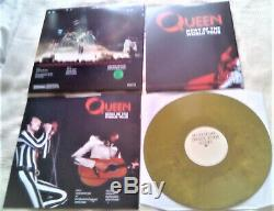 News Of The World Tour 2020 Limited Edition Triple Olive Green LP By Queen