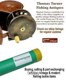 News of The World Prize Reel, 4-1/2 mahogany & brass nottingham starback