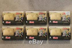 Nintendo 3DS XL Limited Edition, The Legend of Zelda A Link Between Worlds, NEW