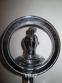 Order of the Knights of the Road Car Badge. Car mascot. News of the world