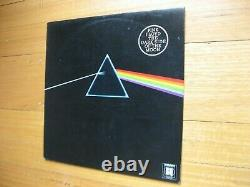 PINK FLOYD Dark Side Of The Moon LP 1970's New Zealand WORLD RECORD CLUB ISSUE