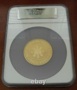 Philippines 1977 FM Gold 5000 Piso NGC PF69UC 5th Anniversary of The New Society