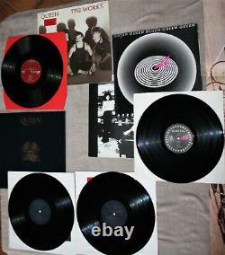 QUEEN 8 Vinyl LPs Night at the OperaKind of Magic WorksNews of the WorldJAZZ