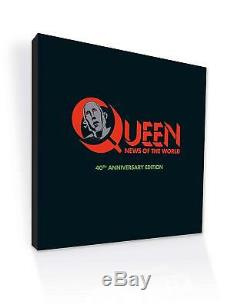 QUEEN NEWS OF THE WORLD 40TH ANNIVERSARY SUPER DELUXE EDITION CD DVD Japan EMS