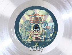 QUEEN NEWS OF THE WORLD Platinum LP Record Award gold cd disc collectible gift