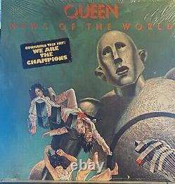 QUEEN NEWS OF THE WORLD VINYL LP SEALED 1st PRESS 1977 ORIG HYPE STICKER no bar