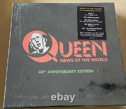 QUEEN News Of The World 40th Anniversary Edition(Vinyl LP, 3 CDs, DVD, 2017)