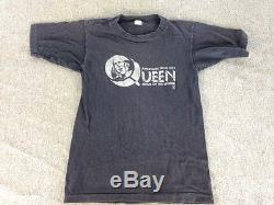 QUEEN News Of The World American Tour 1977 Promo Only T-SHIRT Small 34-36 RARE