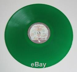 QUEEN News Of The World French 1977 Green Coloured Vinyl LP Album France