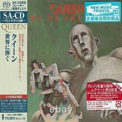 QUEEN News Of The World Japan Jewel Case SACD-SHM UIGY-15016