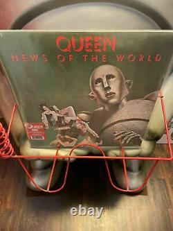 QUEEN News Of The World LP / Comi Con 2017 ULTRA RAR