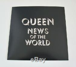 QUEEN News Of The World Limited Edition Picture Disc Vinyl LP UK 2017 Album