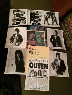 QUEENNews Of The World Press Kit RARE