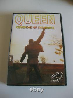Queen Champions of the World (DVD) NEW Region 0 rare oop Freddie Mercury