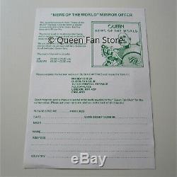Queen News Of The World 1977 Elektra Records Promo Album Picture Mirror