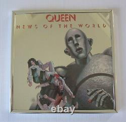 Queen'News Of The World' 1977 Elektra Records USA Promo Album Picture Mirror