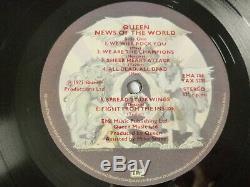 Queen News Of The World 1977 Uk -1/-2 1st Press Rock Vinyl Lp Nice Audio